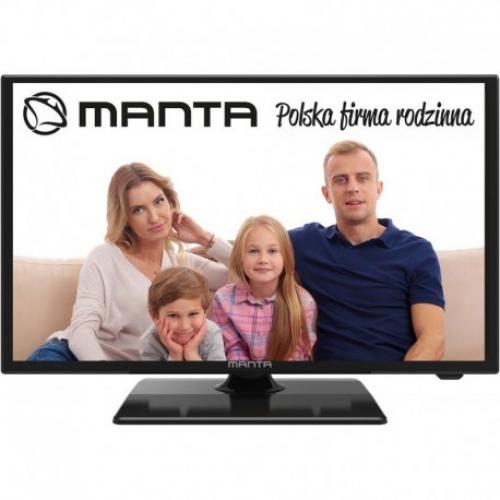 Manta TV 24LFN38L 24 FULL HD 1920x1080 DVB-T/T2 12V και 220V
