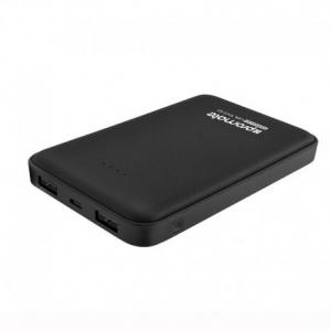 Promate Voltag-10 Black - Powerbank Ταχείας Φόρτισης 10000 mAh Dual USB