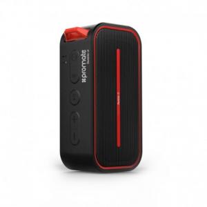 Promate Rustic Black Αδιάβροχο Bluetooth Ηχείο με 10W High Definition ήχο,FM Radio