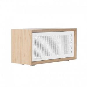 Promate Harmony Beige Ασύρματο Ηχείο με 10 Watt High Definition ήχο, FM radio και ξύλινη καμπίνα