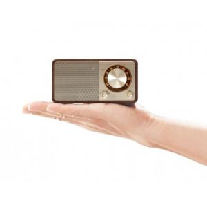 Sangean WR-7 Cherry (Genuine Mini) - Ραδιόφωνο Bluetooth με ξύλινη καμπίνα