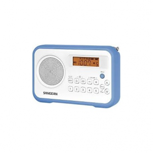 Sangean PR-D18 White/Blue - Φορητό Ραδιόφωνο