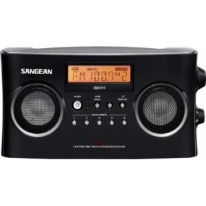 Sangean PACK PR-D5BLACK - Φορητό Ραδιόφωνο