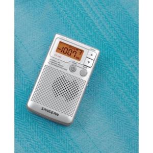Sangean DT-250 Silver - Φορητό Ραδιόφωνο