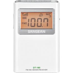 Sangean DT-160 WHITE (Pocket 160) - Φορητό Ραδιόφωνο