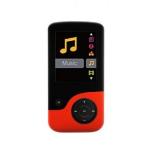 Crypto MP4 Player 8 GB - MP 1800 (Black / Red) W006302