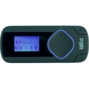 Crypto MP3 Player 8 GB - MP 315 W006313 (Μαύρο/Μπλέ)