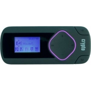 Crypto MP3 Player 8 GB - MP 315 W006314 (Μαύρο/Μωβ)