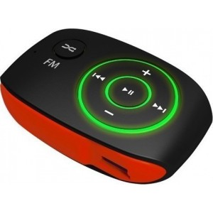 MP3 PLAYER CRYPTO MP301 RED 8GB (W007091)