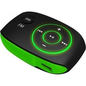 MP3 PLAYER CRYPTO MP301 GREEN 8GB (W007064)