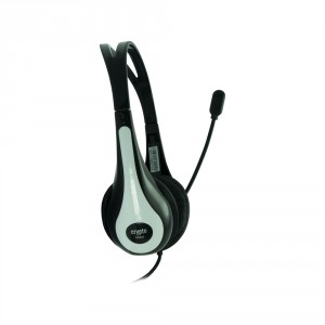 CRYPTO HEADSET [HS200 Black/White] On Ear Close