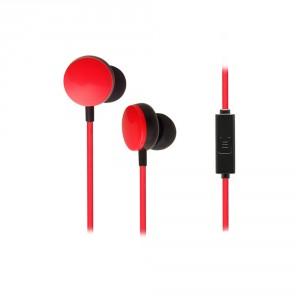 CRYPTO EARPHONE [EF-100 Black/Red] Handsfree In-Ear