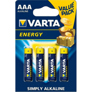 VARTA 4103 συσκ.4 AΛΚΑΛΙΚΗ ENERGY AAA