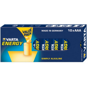 VARTA 4103 Συσκ.10 229410 ENERGY AAA, VALUE PACK 4103229410