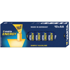 VARTA 4106 Συσκ.10 229410 ENERGY AA, VALUE PACK 4106229410
