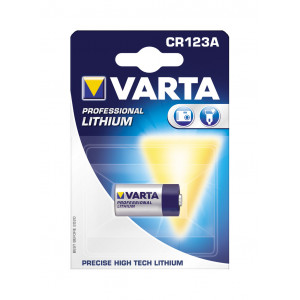 VARTA CR 123 A LITHIOUM 6205301401