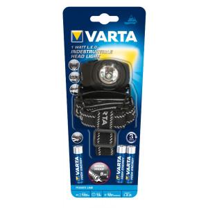 VARTA ΦΑΚΟΣ 1W LED HEAD FLASHLIGHT