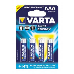 VARTA 4903 συσκ.4 ΑΛΚΑΛΙΚΗ HIGH ENERGY AAΑ 4903121414