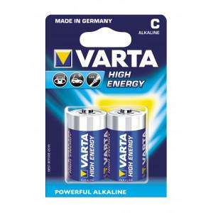 VARTA 4914 συσκ.2 AΛΚΑΛΙΚΗ HIGH ENERGY C 1,5V 4914121412