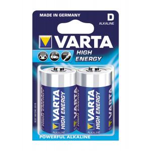 VARTA 4920 συσκ.2 AΛΚΑΛΙΚΗ HIGH ENERGY D 1,5V