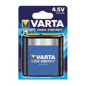 VARTA 4912 AΛΚΑΛΙΚΗ HIGH ENERGY ΠΛΑΚΕ 4,5V 4912121411