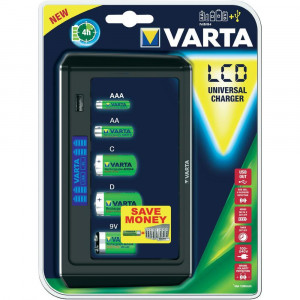 VARTA LCD UNIVERSAL CHARGER 57678101401