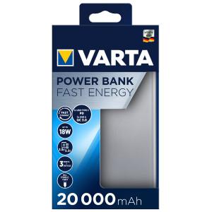 VARTA 57983101111 Powerbank Fast Energy 20000 mAh 5798310111
