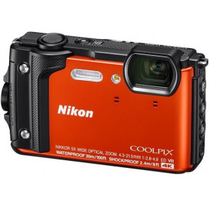 NIKON COOLPIX W300 ORANGE Holiday kit VQA071K001