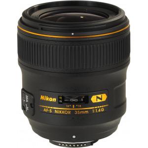 NIKON 35mm F1.4 FX G
