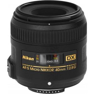 NIKON 40mm F2.8G DX MICRO AF-S JAA638DA