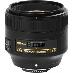NIKON 85mm F1.8 FX G AFS