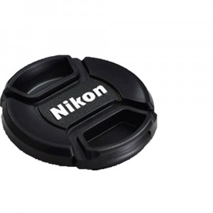 NIKON LC-58 58mm SNAP-ON FRONT LENS CAP JAD00901