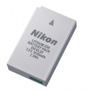 NIKON EN-EL22 Rechargeable Li-ion Battery VFB11501