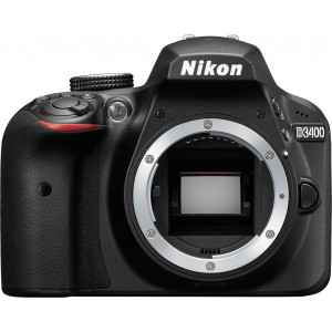 NIKON D3400 Black Body VBA490AE