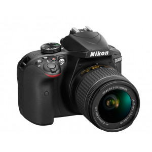 NIKON D3400 + AF-P DX Nikkor 18-55 f3.5-5.6G Black KIT VBA490K002