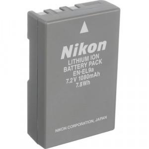 NIKON EN-EL9a RECHARGEABLE BATTERY VFB10201