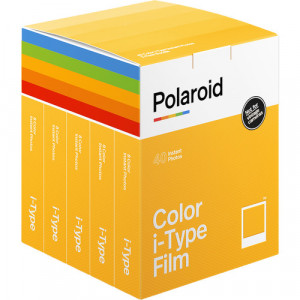Polaroid Color film for i-Type - x40 film pack 6010 6010