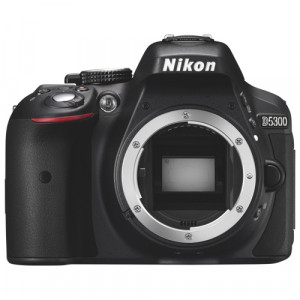 NIKON D5300 Black Body + SanDisk SD Extreme 16GB