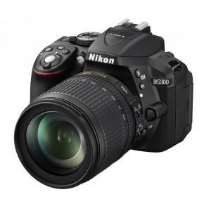 NIKON D5300 Black + Lens 18-105VR + SanDisk SD Extreme 16GB