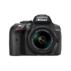 NIKON D5300 + AF-P 18-55VR Black KIT + SanDisk SD Extreme 16GB