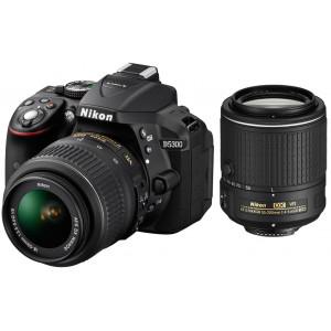 NIKON D5300 + AF-P 18-55VR + 55-200 VR II + SanDisk SD Ultra 16GB 80MB/s Class 10 VBA370K019