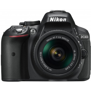 NIKON D5300 + AF-P DX Nikkor 18-55 f3.5-5.6G Black Kit + SanDisk SD Ultra 16GB 80MB/s Class 10 VBA370K016
