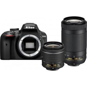 NIKON D3400 + AF-P 18-55 VR + AF-P 70-300VR + SanDisk SD Ultra 16GB 80MB/s Class 10 VBA490K005