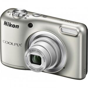 NIKON Coolpix A10 Silver + Θηκη Nikon VNA980E1