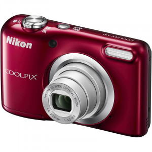 NIKON Coolpix A10 Red + Θήκη Nikon VNA982E1