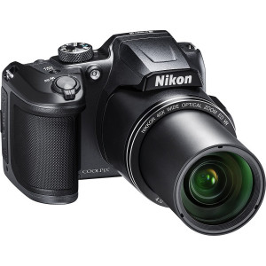 NIKON Coolpix B500 BLACK + SanDisk SD Ultra 8GB 40MB/s Class 10 + VARTA Pocket Charger + 4x ΑΑ 2100mAh + Θηκη Nikon