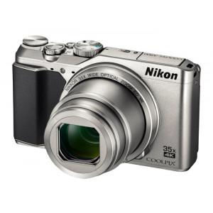 NIKON Coolpix A900 SILVER + Θήκη Hama VNA911E1