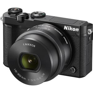 NIKON 1 J5 + 10-30PD BLACK KIT + Θηκη Nikon VVA241K001