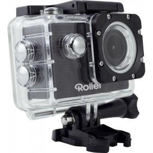 Rollei 40140 Actioncam 372 Black + Rollei 21632 Actioncam Mount Surfing Grip 40140