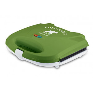 BEPER 90.485V 700W GREEN Sandwich Maker with Grill Plate